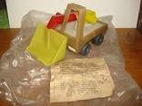 Игрушка экскаватор.в заводской упаковке., фото №2