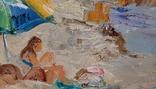 *Голубая бухта*х/м ,70*80 ,Заслуженный худ.Украины Ольхов А.В.,2006г, фото №9