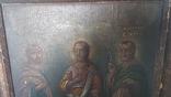 Икона,старинная. Покровительница семьи и брака. Гурий, Авив, Самон., фото №7
