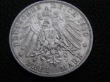 3 марки 1910 D Бавария. Отто., фото №4