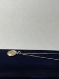 Кулон на цепочке из серебра 925° 2,40 гр., фото №4
