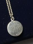 Кулон на цепочке из серебра 925° 2,40 гр., фото №7