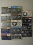 Аудиокассеты разных жанров и исполнителей + две синие., фото №3