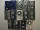 Аудиокассеты разных жанров и исполнителей + две синие., фото №4
