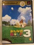 GOLF3 MEGA HITS! (PS2, NTSC-J), фото №2
