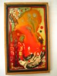 Картина Скворец 1993 года.Одесского художника Чернова В.И., фото №2