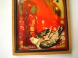 Картина Скворец 1993 года.Одесского художника Чернова В.И., фото №4