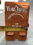 """Подставка для гаджета от YouTube канала """"Лавка Удовольствий"""", фото №4"""