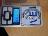 Браслет 800 пробы , вес 11,69 Грам, фото №2