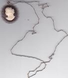 Камея  кулон  на  цкпочке  835  пр, фото №2