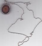 Камея  кулон  на  цкпочке  835  пр, фото №3