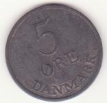 Дания 5 эре, 1952 (лот 155), фото №2