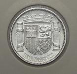 1 песета, 1933 г Испания, фото №2