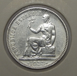 1 песета, 1933 г Испания, фото №3