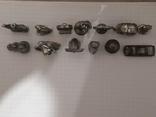 Миниатюрные фигурки из металла 13 шт., фото №3