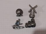 Миниатюрные фигурки из металла 13 шт., фото №4