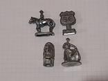 Миниатюрные фигурки из металла 13 шт., фото №6