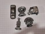 Миниатюрные фигурки из металла 13 шт., фото №8