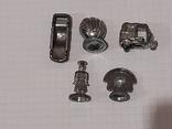 Миниатюрные фигурки из металла 13 шт., фото №9