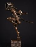 Фигурка Скульптура Барон Мюнхаузен Mnchhausen Franze, фото №2