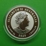 Австралия Квокка Quokka Фауна 2020 Серебро, фото №3