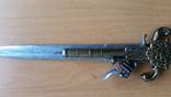 Винтажный кремневый пистолет Ketland - копия кинжала, фото №6