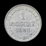 1 Грошен 1858 В, Ганновер, фото №2