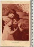 Старинная открытка. 1935 год. Дети.(3), фото №2