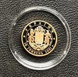 10 гривень 2001 рік. 10 років Незалежності. Золото 3,11 грам. Банківський стан, фото №6
