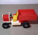 Машинка грузовик Кругозор из СССР длина 11 см., фото №3