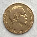 20 франков 1854 года, фото №2