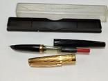 Ручка с золотым пером. Цена 15-70., фото №6