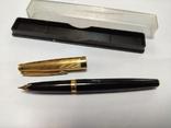 Ручка с золотым пером. Цена 15-70., фото №7