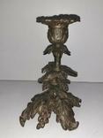 Подсвечник бронзовый, лот 3., фото №5