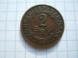 Дания 2 эре 1907 г. KM#805, фото №3