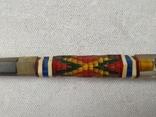 Ручка с цветами ИТК времен СССР, фото №4
