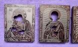Оклады для икон латунные 3шт, фото №5