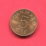 Дания 5 эре 1981, фото №2