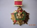 Отличник погранвойск СССР.1 ст.Латунь.Реплика., фото №3