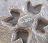 Хрест, винтаж  серебро 925, фото №3