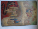 Страшный суд. Большая храмовая икона, фото №3