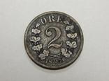 2 оре, 1876 г Норвегия, фото №2