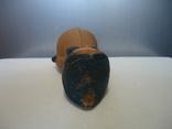 Резиновая игрушка - пищалка ,, Девочка в платочке ,, клеймо, фото №10