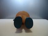 Резиновая игрушка - пищалка ,, Девочка в платочке ,, клеймо, фото №11