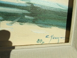 Зас.худ.укр. Усик  С. раз. 75 х 68 см. к. м. 1988 год. Закарпатская шк. Бокшая и Манайла., фото №4