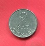 Дания 2 эре 1955, фото №2