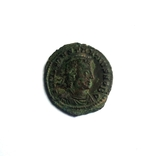 Констанций II - Два солдата,один штандарт ( 337 - 361 ) Constantinople, фото №3