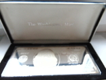 Серебряная Банкнота 100 долларов США.4 унции серебра 999.9 пробы. С 1 гривны., фото №10