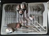 Комплект приборов WMF  в чемодане Германия 25 предметов, фото №10