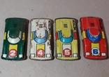 Гоночные машинки МЕТЕОР СССР 2,4,5,6 одним лотом 4 шт., фото №2
